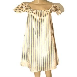 Paper Moon Ruffle Sleeve Baby Doll Midi Dress